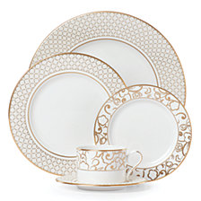 Lenox Venetian Lace Gold5 Piece Place Setting