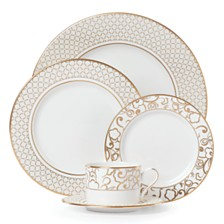 Lenox Venetian Lace Gold 5-Piece Place Setting