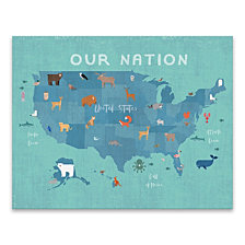 Our Nation Printed Canvas