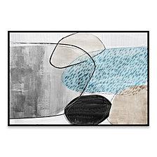 Bolder 2 Framed Printed Canvas