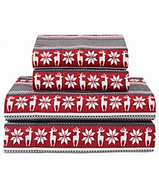 Winter Nights Cotton Flannel Sheet Sets