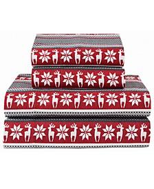 Winter Nights Cotton Flannel Sheet Sets