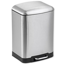 Home Basics 6 Liter Soft-Close Waste Bin
