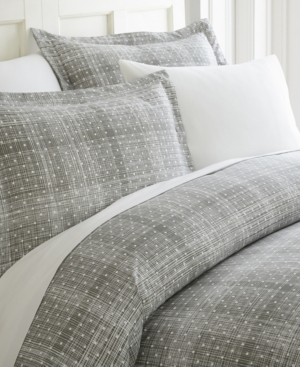 Elegant Designs Patterned Duvet Cover Set by The Home Collection, Queen/Full Bedding