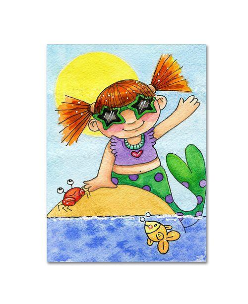 "Trademark Global Jennifer Nilsson You Are My Sunshine Canvas Art - 16"" x 20"" x 0.5"""