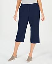 d765f51abb8d Karen Scott Petite Drawstring Capri Pants