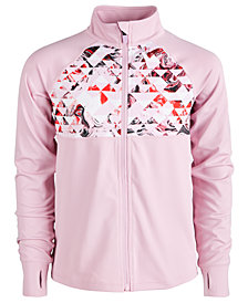 Ideology Big Girls Geo-Print Active Jacket, Created for Macy's