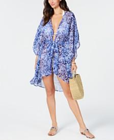 Lauren Ralph Lauren Ikat Tunic Cover-Up