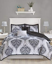 Senna 5-Pc. Reversible King/California King Comforter Set