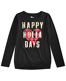 Epic Threads Big Girls Holiday T-Shirt, Created for Macy's
