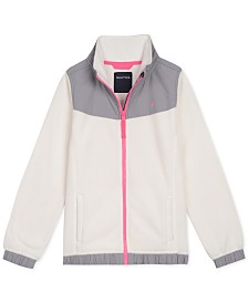 Nautica Big Girls Polar Fleece Jacket