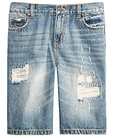 Epic Threads Big Boys Hamilton Denim Shorts, Created for Macy's