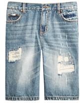 d4a16973be56 Epic Threads Big Boys Hamilton Denim Shorts, Created for Macy's