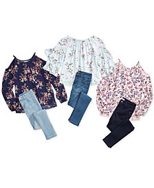 Epic Threads Big Girls Printed Tops & Jeans Separates, Created for Macy's