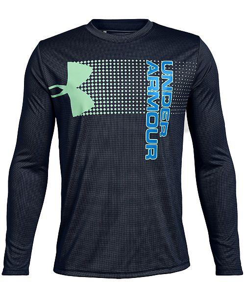 a42edbf027 Under Armour Big Boys Logo-Print T-Shirt & Reviews - Shirts & Tees ...