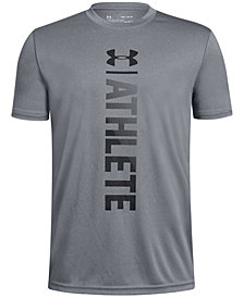 Under Armour Big Boys Athlete-Print T-Shirt