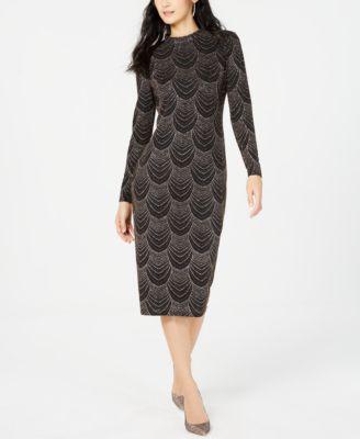 A-Line Maxi Dress Necklace Nine West