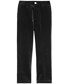 I.N.C. Boy's Stretch Velvet Pants, Created for Macy's