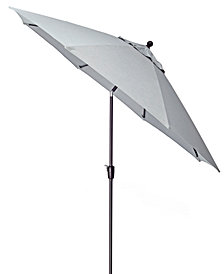 Outdoor 11' Umbrella with Sunbrella® Fabric (Highland & Montclaire), Created for Macy's