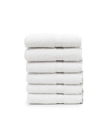 Linum Home Sinemis 6-Pc. Terry Washcloth Set