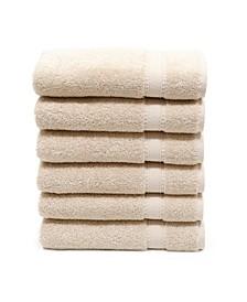 Sinemis 6-Pc. Terry Hand Towel Set