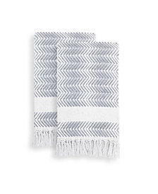 Linum Home Textiles Assos Hand Towels Set of 2
