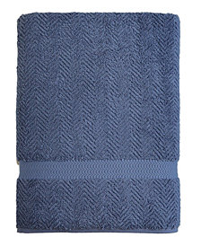 Linum Home Textiles Herringbone Bath Sheet