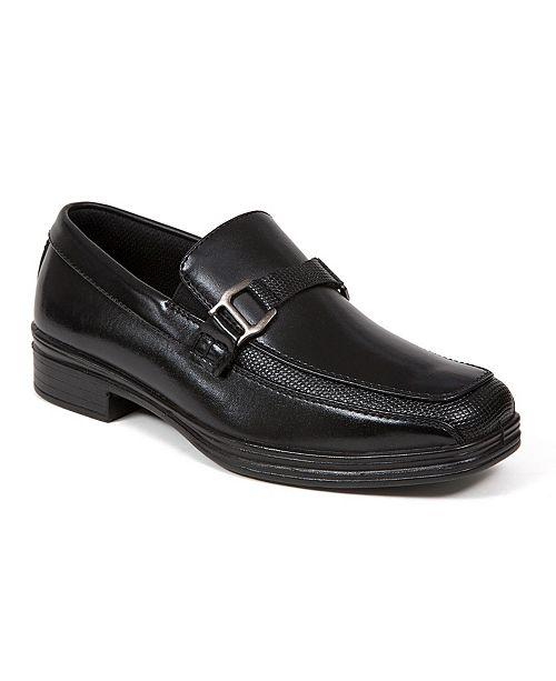 DEER STAGS Kids' Fierce Slip-On Dress Comfort Loafer (Little Kids/Big Kids)