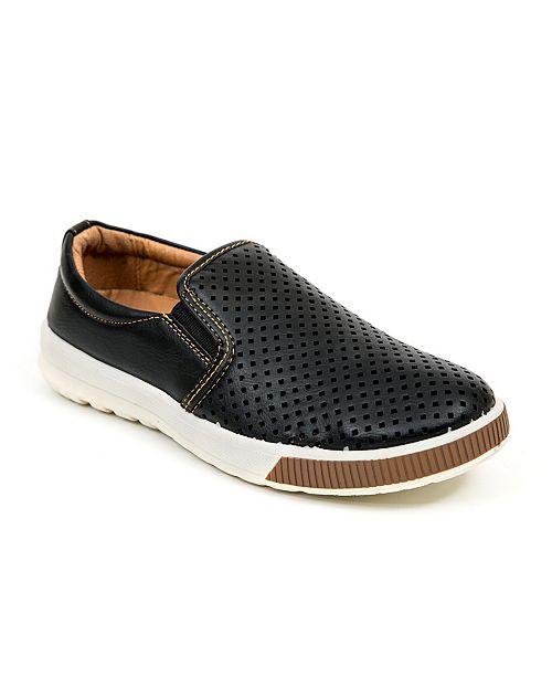 DEER STAGS Jace Dress Comfort Fashion Slip-on Sneaker (Little Kid/Big Kid)