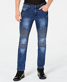 I.N.C. Men's Moto Skinny Jeans, Created for Macy's