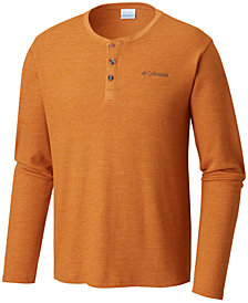 Columbia Men's Waffle-Knit Ketring Henley