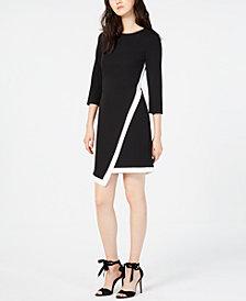 Vince Camuto Asymmetrical Sheath Dress