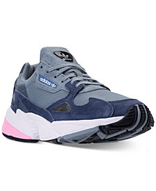 adidas Women's Originals Falcon Suede Casual Sneakers from Finish Line