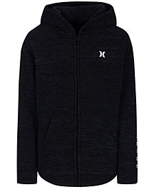 Hurley Big Boys Polar Protect Zip-Front Fleece Sweatshirt