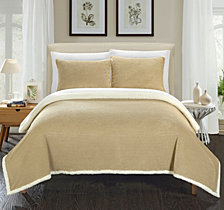 Chic Home Lancy 3-Pc Full/Queen Sherpa Blanket