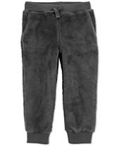 ce13f2296 Carter's Toddler Boys Fuzzy Jogger Pants
