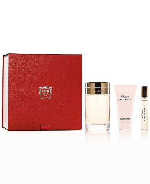 Cartier 3-Pc. Baiser Volé Eau de Parfum Gift Set, Created for Macy's