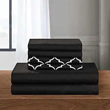 Chic Home Illusion 6-Pc Queen Sheet Set