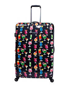 "Jessica Simpson Bottoms Up 29"" Spinner Suitcase"