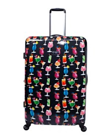 """Jessica Simpson Bottoms Up 29"""" Spinner Suitcase"""