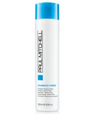 Image of Paul Mitchell Clarifying Shampoo Three, 10.14-oz, from Purebeauty Salon & Spa