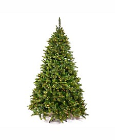 4.5 ft Cashmere Pine Artificial Christmas Tree With 250 Clear Lights