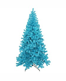 Vickerman 4 ft Sky Blue Artificial Christmas Tree