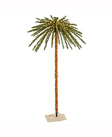 7' Outdoor Palm Artificial Tree