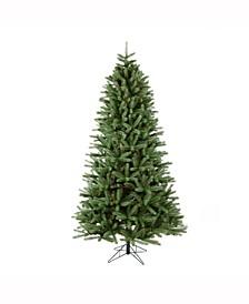 7.5 ft Colorado Spruce Slim Artificial Christmas Tree Unlit