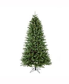 Vickerman 7.5 ft Colorado Spruce Slim Artificial Christmas Tree Unlit
