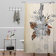 Deny Designs Iveta Abolina French Blue Shower Curtain