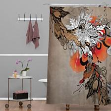 Deny Designs Iveta Abolina Wild Lilly Shower Curtain