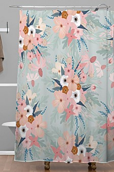 Iveta Abolina Ada Garden Shower Curtain