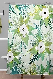 Iveta Abolina Lula Garden I Shower Curtain